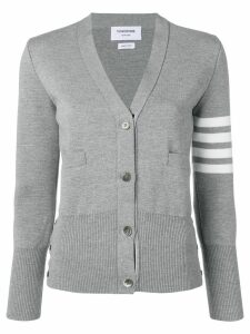Thom Browne 4-bar milano cardigan - Grey
