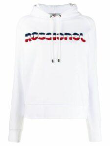 Rossignol branded hoodie - White