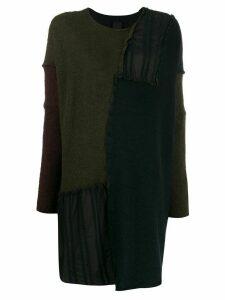 Rundholz Black Label oversized knitted jumper - Blue