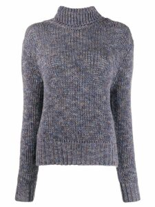 Aragona knitted cashmere jumper - Blue