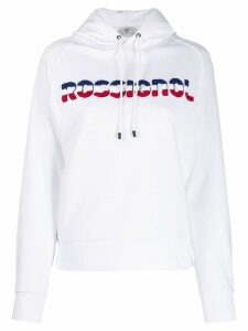 Rossignol textured logo hoodie - White