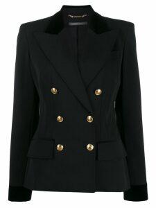 Alberta Ferretti double-breasted blazer - Black