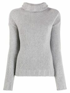 Aragona knitted cashmere jumper - Grey