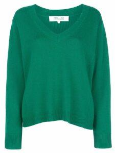 Diane von Furstenberg v-neck jumper - Green