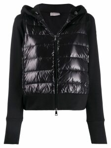 Moncler short padded jacket - Black