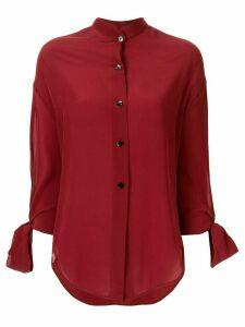 Petar Petrov tie sleeve blouse - Red