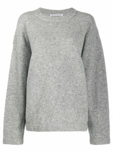 T By Alexander Wang crew-neck sweater - Grey