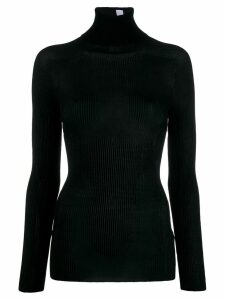Victoria Beckham fitted turtle neck jumper - Black