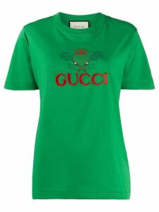 Gucci Gucci Tennis logo T-shirt - Green