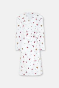 Wimbourne Rose Towelling Robe