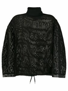 See By Chloé cage mesh knit jumper - Black