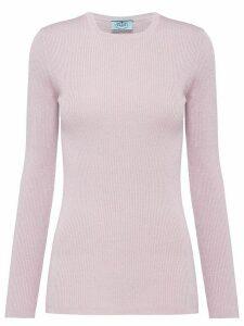 Prada lamé sweater - PINK