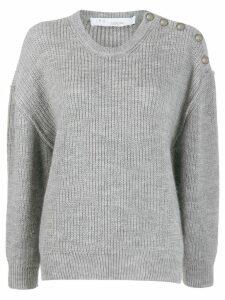 IRO Holmes ribbed-knit jumper - Grey