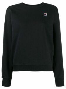 Fila embroidered logo sweatshirt - Black