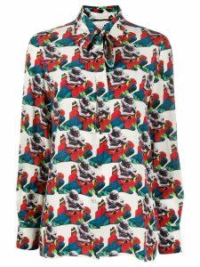 Valentino x Undercover graphic print shirt - White