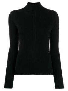 Falke roll neck sweater - Black
