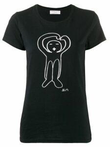 Société Anonyme graphic print T-shirt - Black
