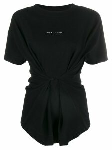 1017 ALYX 9SM short sleeve cinched T-shirt - Black