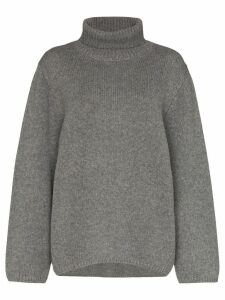 Toteme Cambridge turtleneck jumper - Grey