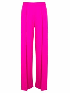 Maison Rabih Kayrouz pleated detail flared trousers - Pink