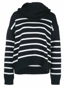 Monse striped pattern jumper - Blue