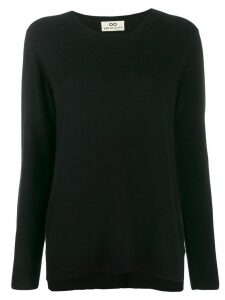 Sminfinity cashmere round neck jumper - Black