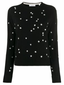 Equipment Star print sweater - Black