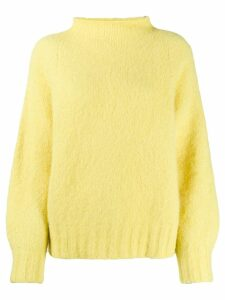 Equipment slub knit jumper - Yellow