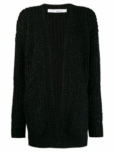 IRO glittered cardigan - Black