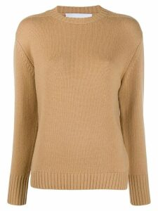 Re/Done cable knit jumper - Brown