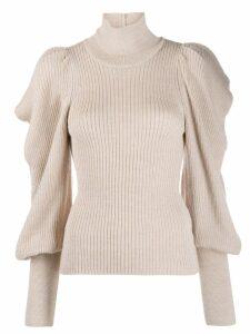 Ulla Johnson Tatum oversized sleeve sweater - NEUTRALS