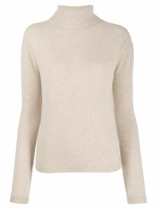 LIU JO classic turtleneck sweater - NEUTRALS
