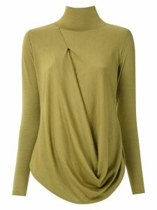 Uma Raquel Davidowicz Church high neck blouse - Green