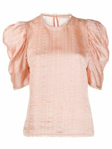 Ulla Johnson Arleigh ruffle sleeve blouse - PINK