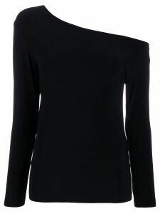 Norma Kamali off the shoulder top - Black