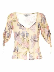 We Are Kindred Stevie sweetheart blouse - Yellow