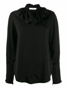 See by Chloé ruffle collar shirt - Black