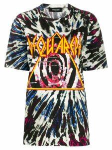 Dsquared2 tie dye logo print T-shirt - Black