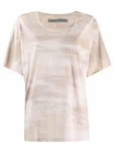 Raquel Allegra tie-dye T-shirt - NEUTRALS