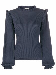 Ulla Johnson frill sweater - Blue
