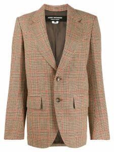 Junya Watanabe slim-fit checked blazer - NEUTRALS