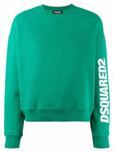 Dsquared2 logo print sweatshirt - Green