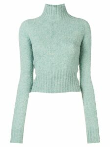 Victoria Beckham crew neck jumper - Green