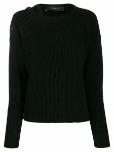 Federica Tosi long-sleeve knitted sweater - Blue