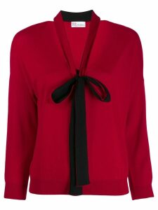 Red Valentino bow detailed jumper