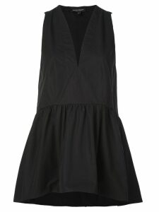 Narciso Rodriguez V-neck peplum top - Black
