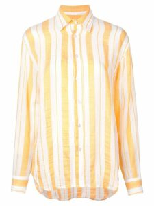 lemlem Doro men's shirt - Yellow
