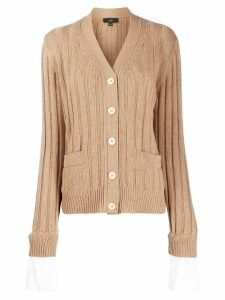 Jejia soft knit cardigan - NEUTRALS