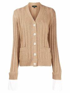 Jejia soft knit cardigan - NEUTRALS