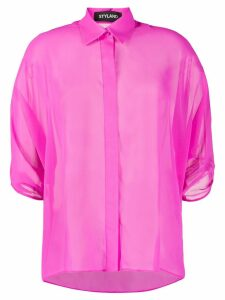 Styland draped sleeve shirt - PINK